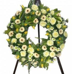 Részvétcsokor, koszorú, temetés